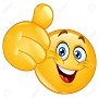 16537110-Emoticon-showing-thumb-up-Stock-Vector-smiley-face-smile